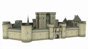 Château médiéval Photographie stock libre de droits