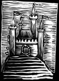 Château médiéval Photo libre de droits