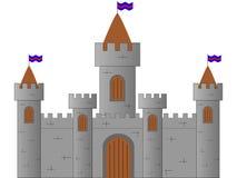 Château médiéval illustration de vecteur