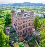 Château médiéval d'Ortenberg, construit dans 11ème sentury l'allemagne Photos stock