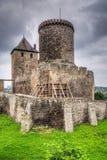 Château médiéval dans Bedzin Images libres de droits