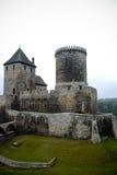 Château médiéval dans Bedzin, Pologne Photo libre de droits