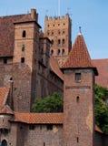Château médiéval dans Malbork Photo libre de droits