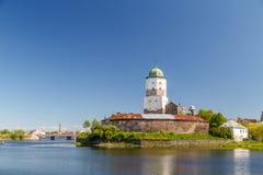 Château médiéval dans Vyborg photographie stock libre de droits