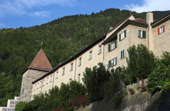 Château médiéval de Chur Photos libres de droits