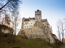 Château médiéval de château du ` s de Dracula de son, Brasov, la Transylvanie, Roumanie Photos libres de droits