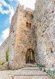 Château médiéval de façade de Vénus photo stock