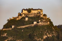 Château médiéval de Hochosterwitz, Carinthie, Autriche Images stock