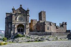 Château médiéval de Javier en Navarra l'espagne Image stock