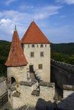 Château médiéval de Kokorin dans la République Tchèque image libre de droits
