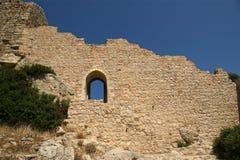 Château médiéval de Kritinia en Rhodes Grèce Photos stock