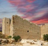 Château médiéval de Kritinia en Rhodes Greece, Dodecanese Image libre de droits