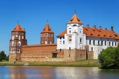 Château médiéval de MIR Photo libre de droits