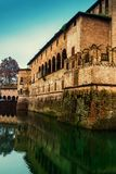 Château médiéval de Rocca Sanvitale de château dans Fontanellato Photos stock