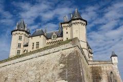 Château médiéval de Saumur Images libres de droits