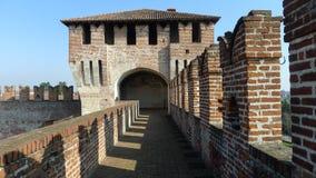 Château médiéval de Sforzesco Image stock
