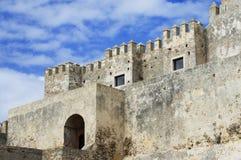 Château médiéval, EL Bueno, Tarifa de Guzman Image libre de droits