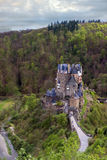 Château médiéval Eltz l'allemagne photographie stock libre de droits