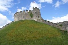 Château médiéval en Angleterre photo stock
