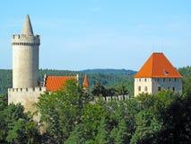 Château médiéval Kokorin Photographie stock libre de droits