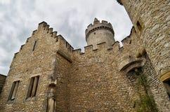 Château médiéval Kokorin, République Tchèque Images libres de droits