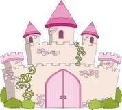 Château magique de conte de fées illustration stock