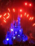 Château magique de royaume Photos libres de droits