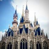 Château magique de royaume Photographie stock libre de droits