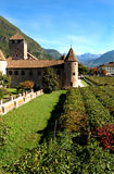 Château Mareccio d'â de Bolzano, Italie Image libre de droits