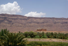 Château Maroc de Kasbah photos stock