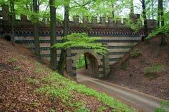 Château mauvais Muskau, Allemagne Images libres de droits