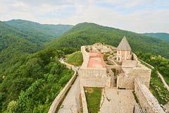 Château Medvednica dans la ville Zagreb Images stock