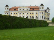 Château Milotice, République Tchèque Photographie stock