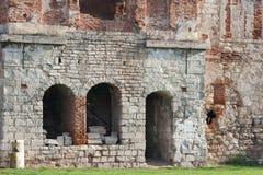 château Moitié-ruiné de Sieniawski 1534 ans dans Berezhany image libre de droits