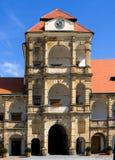 Château Moravska Trebova Photos stock