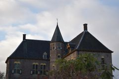 Château néerlandais Vorden image stock