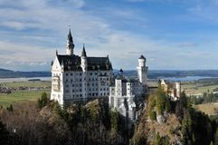 Château Neuschwanstein Image libre de droits