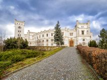 Château Novy Svetlov près de village Bojkovice photo libre de droits