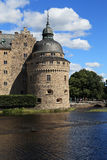 Château Orebro, Suède image libre de droits