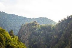 Château original de Dracula en Roumanie images libres de droits