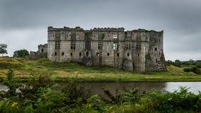Château Pembrokeshire Pays de Galles de Carew Photographie stock libre de droits