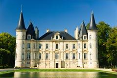 Château Pichon Longueville Image libre de droits
