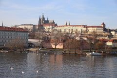 Château Prague Image stock