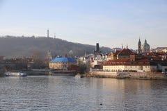 Château Prague Images libres de droits