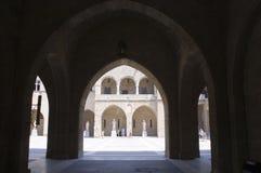 Château principal grand - Rhodes - Grèce Photo libre de droits