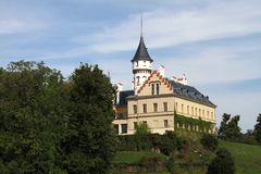 Château Radun Images libres de droits