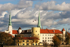 château Riga Image libre de droits
