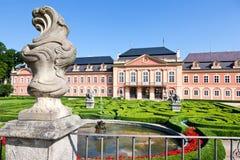 Château rococo Dobris, région de Bohème centrale, République Tchèque, image stock