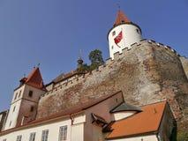 Château romantique avec la tour photos libres de droits