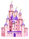 Château rose de princesse Photographie stock